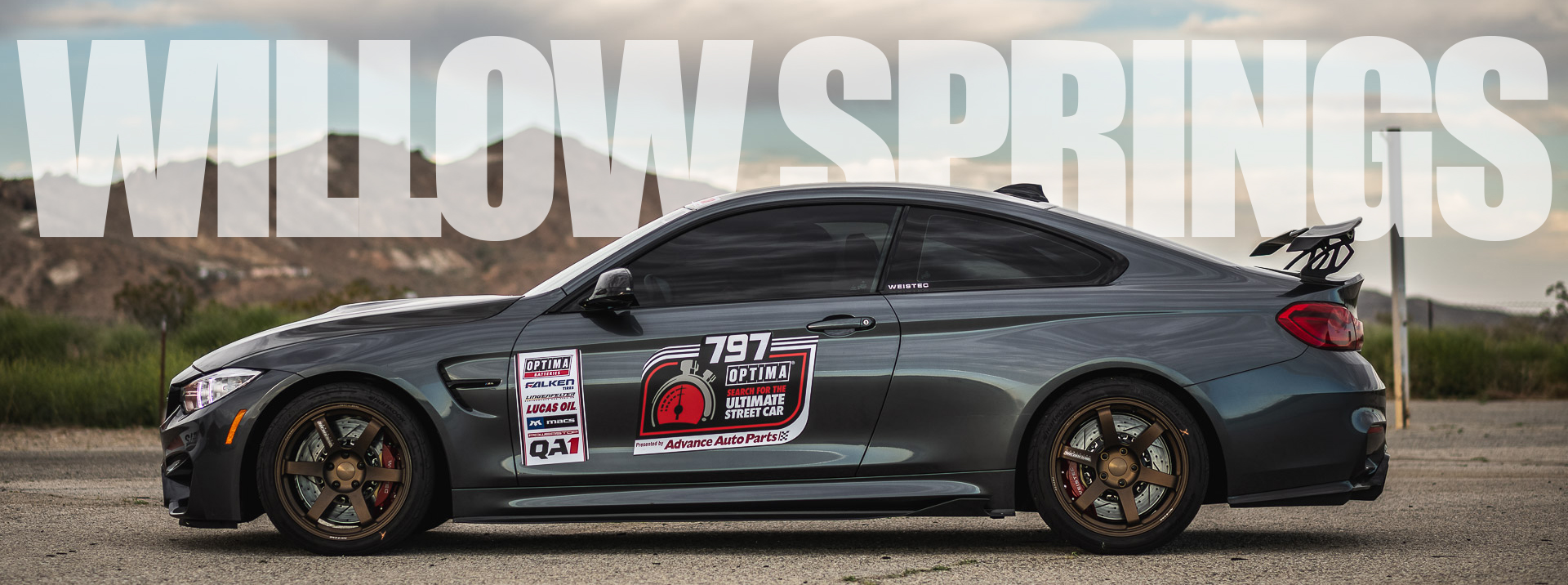 Weistec BMW M4 | Willow Springs