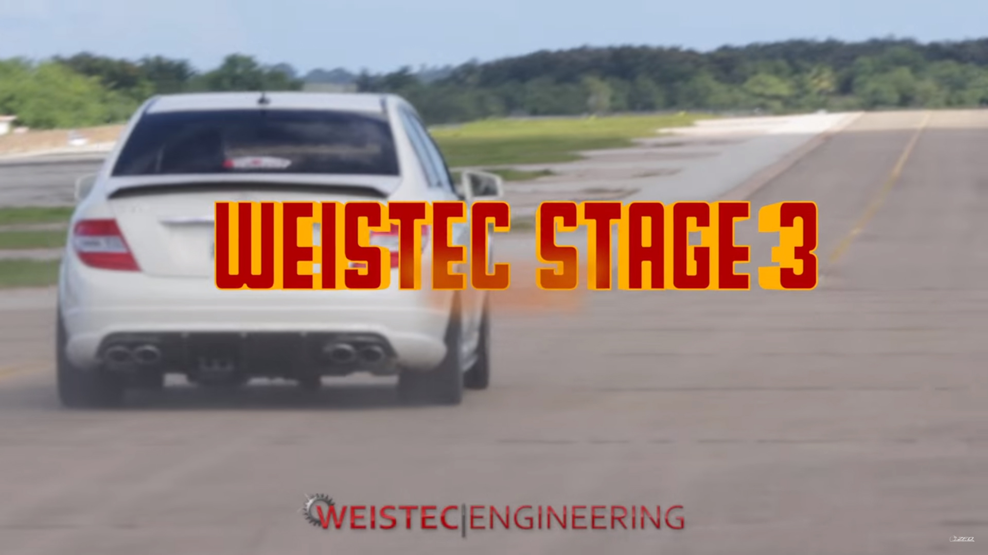 Weistec Stage 3 C63 185 MPH 1/2 Mile Run