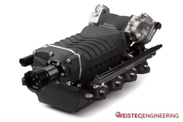 Mercedes Benz AMG M156 Stage 3 Supercharger C63   Weistec
